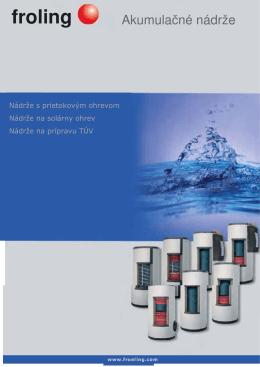 Stiahnite si Technický list akumulačných nádrží v PDF