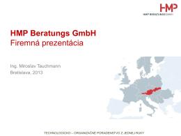 HMP Beratungs GmbH Firemná prezentácia