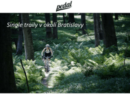 OZ Pedal_Single traily v okoli Bratislavy