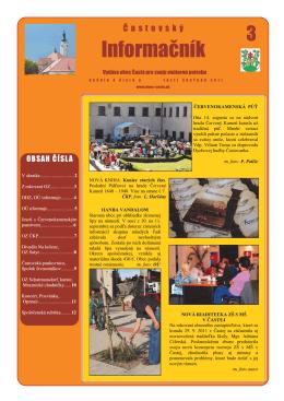 Informačník č. 3/2011