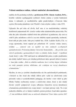 Bratislava - 28. 3. 2014 - Posledná rozlúčka s