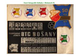 Staré fotografie futbalu v Bošanoch 002