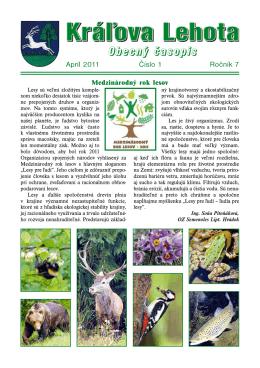 KL 11 č.1.pdf - Kráľova Lehota