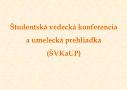 ŠVKaUP - Katedra všeobecnej a aplikovanej etiky