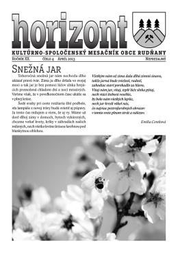 Horizont číslo 4/2013 (.pdf)