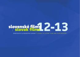 Slovenské filmy / Slovak Films 12-13