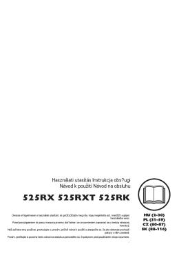OM, 525RX, 525RXT, 525RK, 2013-12, HU, PL, CZ, SK