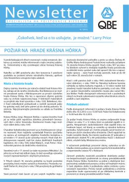 QBEnewsletter