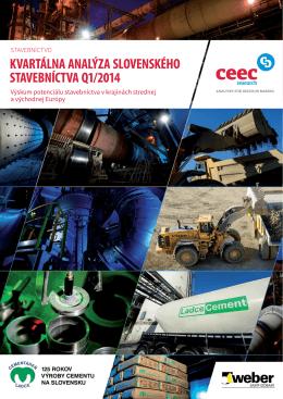 Kvartálna analýza slovenského stavebníctva 1-2014 (CEEC