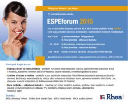 ESPEforum 2015