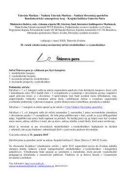 Vyhlásenie Štúrovho pera (240 kb, pdf)
