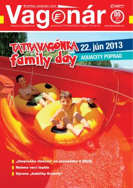 family day - tatravagónka poprad