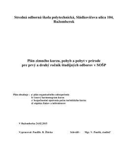 Stredná odborná škola polytechnická, Sládkovičova ulica 104