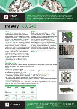 traway 160, 240