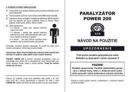PARALYZÁTOR POWER 200 - Euro