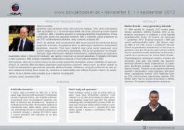Newsletter 10.2012 - Slovenská Basketbalová Asociácia