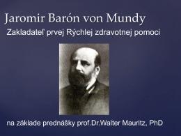 Jaromir Barón von Mundy