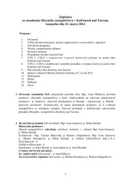 Zapisnica 2014-03-24