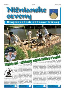 Nižnianske ozveny 5/2010 PDF 2,9 MB