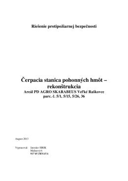 ČS PHM - Technická správa PO.pdf