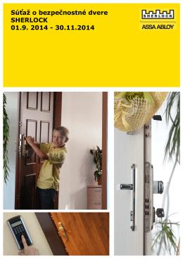 Sutaz o dvere SHERLOCK 2014 verzia 6