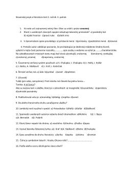 test SLJ študijné odbory2. ročník II.polrok.docx