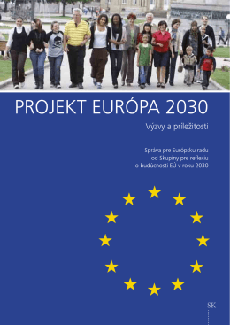 PROJEKT EURÓPA 2030 - Council of the European Union
