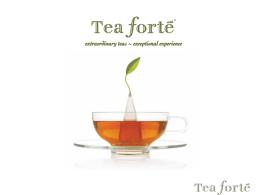 Skutočné umenie čaju