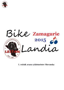 BikeLandia Zamagurie 2015