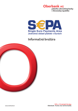 SEPA - informačná brožúra