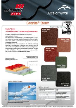 Granite® Storm - blachdomplus.sk