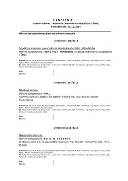 mimoriadne OZ zo dňa 20.10. 2014(PDF, 510.09 KB)