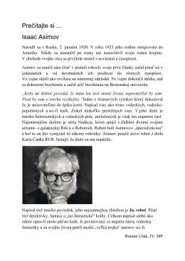 Isaac_Asimov - SOSEZA Edupage