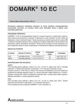 DOMARK® 10 EC - Agro Aliance sro