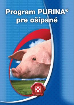 Program PURINA® pre ošípané