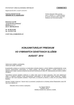 formát pdf  - Štatistický úrad SR