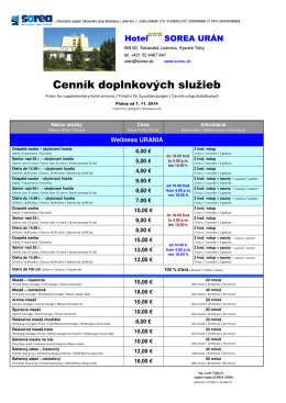 Cenník_Wellness_URANIA