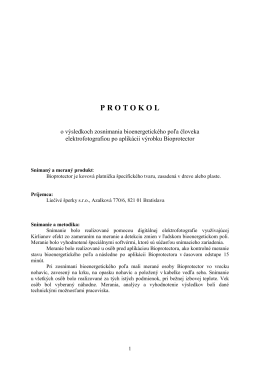 protokol - Bioprotector