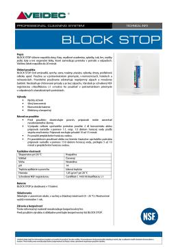 Block Stop - BLS
