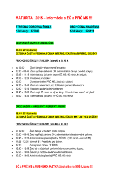 MATURITA 2015.pdf - Spojená škola Sabinov