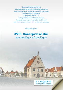 XVIII. Bardejovské dni