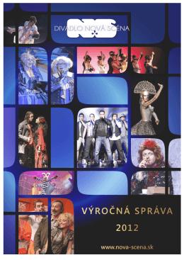 Výročná správa za 2012 - Ministerstvo kultúry SR