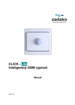 CLICK manual_SK