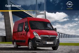 Katalóg Movano Van - Úžitkové vozidlá Opel