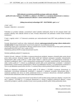 PDF	- CRT Electronic, s.r.o. Or. Lesná