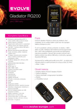 Gladiator RG200