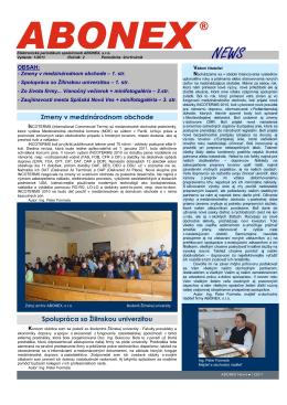 Abonex news 12011