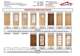 Interiérové dvere - MPG STEEL www.skorozadarmo.sk