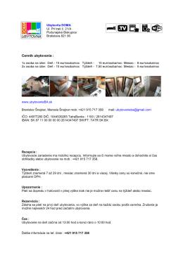 Vytlačiť stránku - ubytovanieba.sk