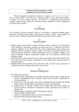 VZN 5_2012 o poplatkoch za znecistenie ovzdusia
